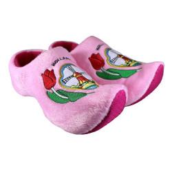 Holzschuh Pantoffeln Rosa...