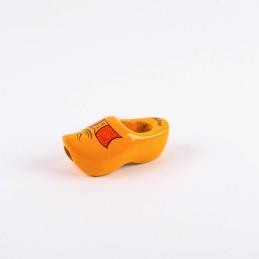 Krawattenholzschuhe Gelb 7 cm